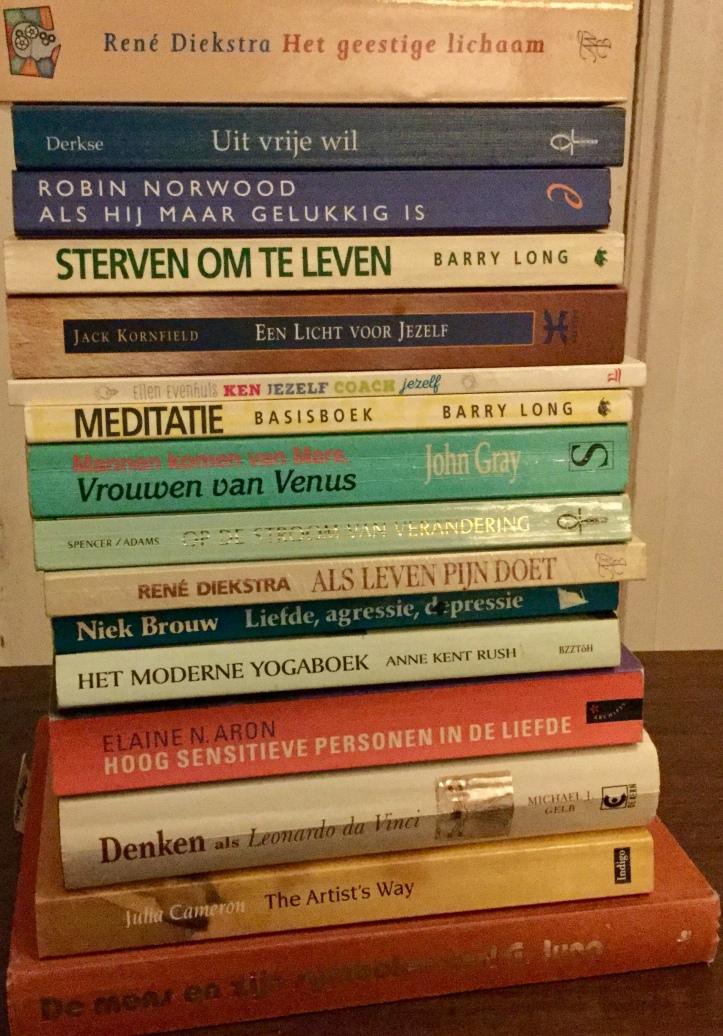 Een greep uit mijn boekenkast